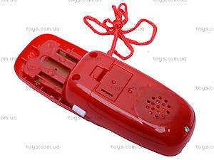 Детский мобильный телефон Cars, 6300W, фото