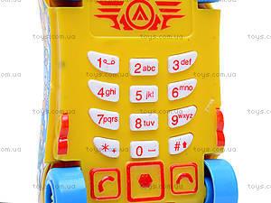 Детский мобильный телефон «Машинка», 778-9/10/11/1, купить