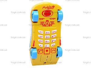 Детский мобильный телефон «Машинка», 778-9/10/11/1, фото