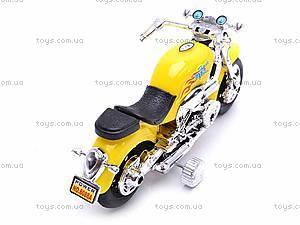 Детский мотоцикл инерционный, 8088A, фото