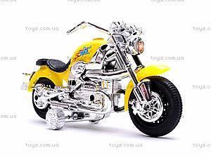 Детский мотоцикл инерционный, 8088A, детские игрушки