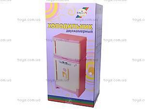 Детский двухкамерный холодильник, 808, игрушки