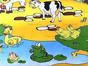 Детский музыкальный коврик «Ферма», 2912, купить