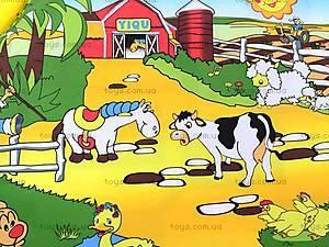 Детский музыкальный коврик «Ферма», 2912, фото