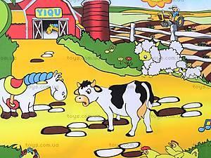 Детский музыкальный коврик «Ферма», 2912, отзывы
