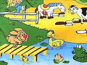 Детский музыкальный коврик «Ферма», 2912, цена