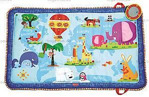 Детский музыкальный коврик «Мир открытий», 1203700030