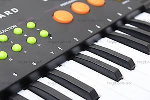 Детский музыкальный орган с микрофоном, SK373D, купить