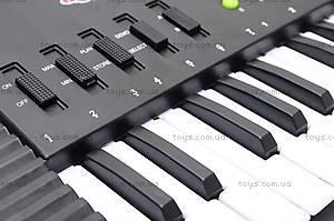 Детский музыкальный орган с микрофоном, SK373D, игрушки