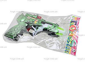 Детский музыкальный пистолет, 215-1, цена