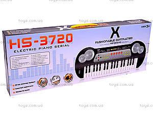 Детский музыкальный синтезатор, HS3720С, купить