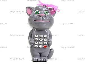 Детский музыкальный телефон «Кот Том», 555-2B, отзывы