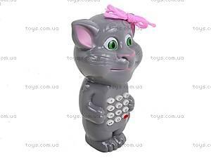 Детский музыкальный телефон «Кот Том», 555-2B, цена