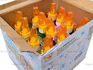 Детский мыльные пузыри «Машинка» со свистком, YY13006, купить