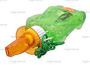 Детский мыльные пузыри «Машинка» со свистком, YY13006, цена