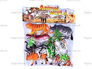 Детский набор диких животных, BF6977, фото