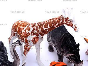 Детский набор диких животных, BF6977, игрушки