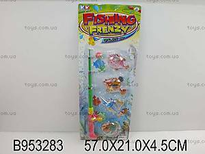 Детский набор для игрушечной рыбалки, 6312