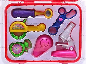 Детский набор доктора в чемоданчике, 1556AB, фото