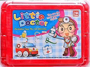 Детский набор доктора в чемоданчике, 1556AB, цена