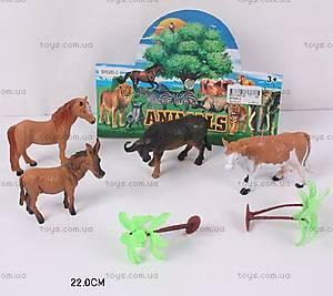 Детский набор игрушечных животных, BF6983-2