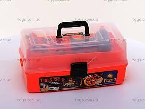 Детский набор инструментов, в чемодане, 2107