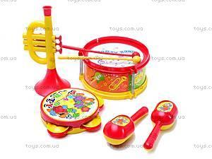 Детский набор музыкальных инструментов, 03626-9