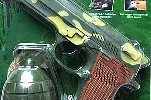 Детский набор «Пистолет и граната», 2100, отзывы
