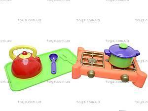 Детский набор «Плита с посудой», , цена