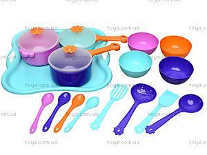 Детский набор посуды с подносом, 39146, цена