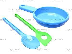 Детский набор посуды «Юная хозяюшка», 04814, toys.com.ua