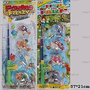 Детский набор «Рыбалка», 4 рыбки, 6619/6312