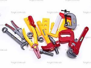 Детский набор строительных инструментов, 0766-5