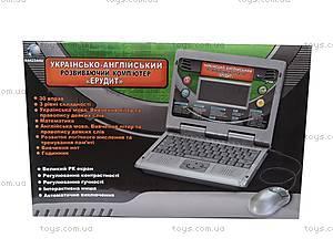 Детский ноутбук «Эрудит», 8813E, цена