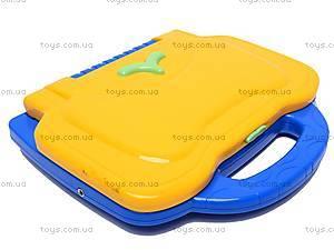 Детский ноутбук с микрофоном и мышкой, BSS002B E/R, купить