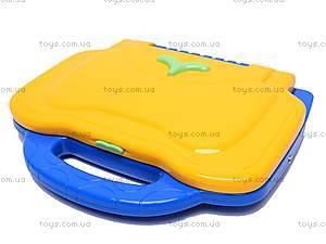 Детский ноутбук с микрофоном и мышкой, BSS002B E/R, детские игрушки