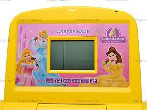 Детский ноутбук «Всезнайка» с мышкой, N82, игрушки