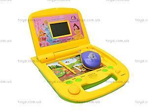 Детский ноутбук «Всезнайка» с мышкой, N82