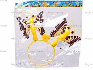 Детский обруч «Бабочки», 1430-11, фото