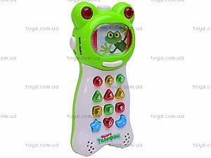 Детский обучающий телефон, FR352, игрушки