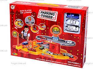 Детский паркинг, с автомойкой, P2388A-1, купить