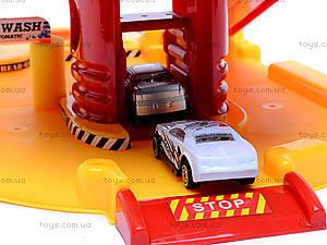 Детский паркинг, с автомойкой, P2388A-1, детские игрушки