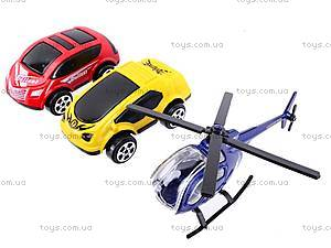 Детский паркинг с металлическими машинами, 92106, купить