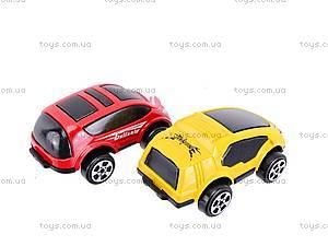 Детский паркинг с металлическими машинами, 92106, фото