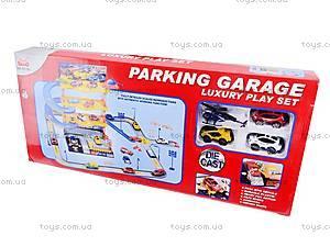 Детский паркинг с металлическими машинами, 92106