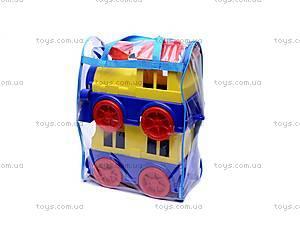 Детский паровоз с вагоном, , купить