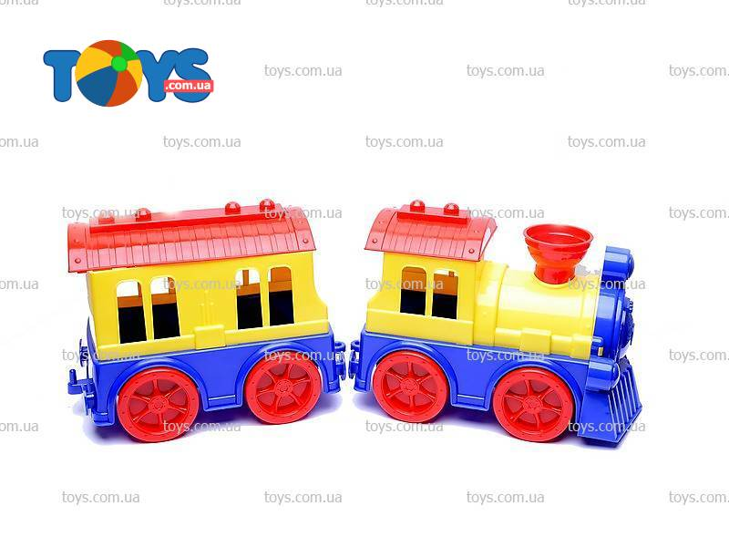 Детский паровоз с вагоном - Игрушечные поезда в интернет-магазине Toys 8d3606c8fe52d