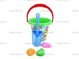 Детский песочный набор, с пасочками, 3091, toys.com.ua