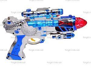 Детский пистолет, 8 звуков, 528