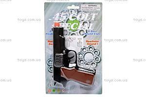 Детский пистолет, для пуль-пистонов, 2071P, купить